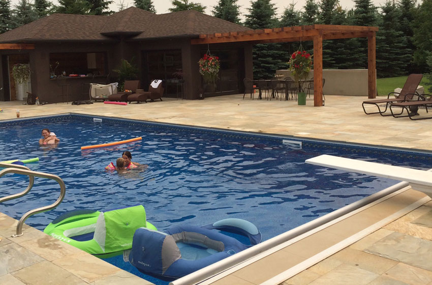 In-ground Pool Wading Swimming